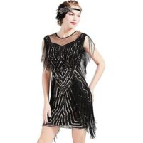 Flapper jurk Couoland