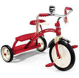 Retro driewielerfietsjes voor de kids