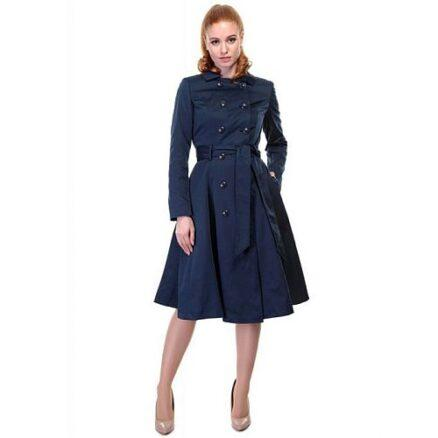 Swing coat navy